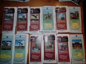 Kartensatz TransAmerican
