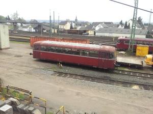"""Guter alter Schienenbus, zu seiner Zeit als """"Retter der Nebenbahnen"""" gefeiert. Genutzt hat es nix, weg sind sie - die Nebenbahnen"""
