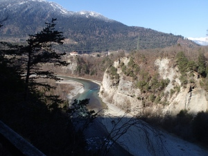 Blick auf den Hinterrhein