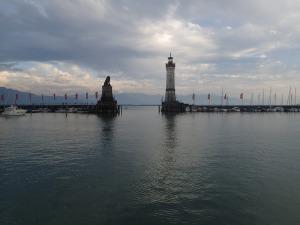 Im Lindauer Hafen
