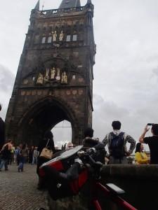 Auf die Karlsbrücke