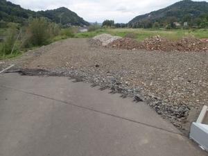 Da ist der schöne neue Radweg leider kurzfristig zu Ende :-(