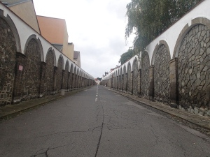 """Der """"Lange Ritt"""" 300 Meter langer Weg zum Schloss Decin"""