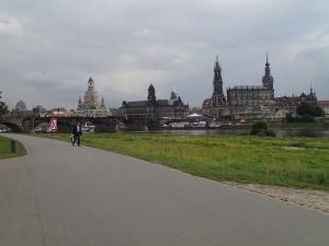 Der Canaleto-Blick auf Dresden