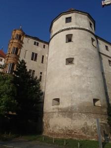 Ein letztzer Blick auf Schloss Torgau von der Elbseite aus gesehen
